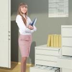 Niezbędne wkażdym biurze – szafy kartotekowe