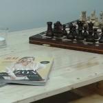 Stół zpalet