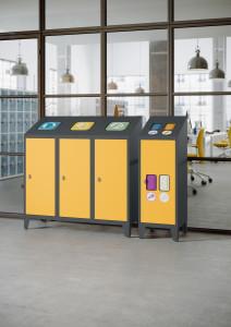 Pojemniki dosegregacji śmieci MPO