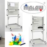 Wózek do dezynfekcji pomieszczeń WAM + Łokciowy Aplikator Płynu ŁAP
